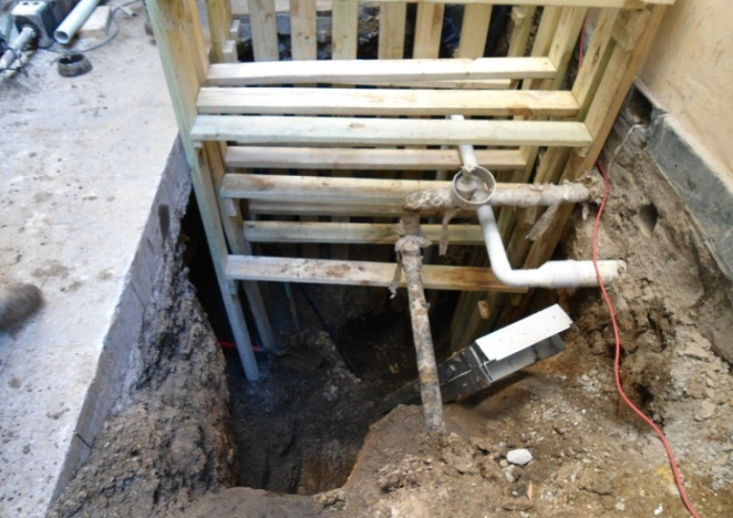 The Mitre Tavern – Bank Place Melbourne	Sewer Replacement & Toilet Refurbishment