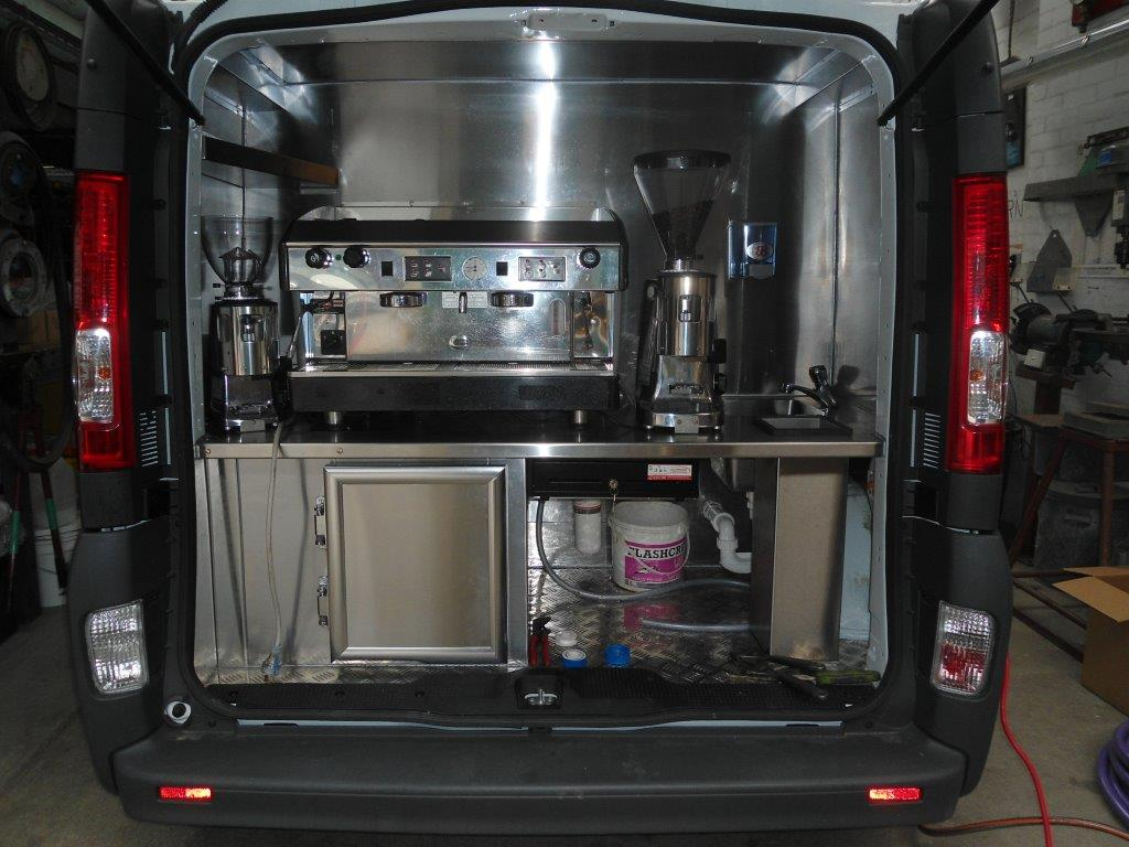 Bean Van custom fit out