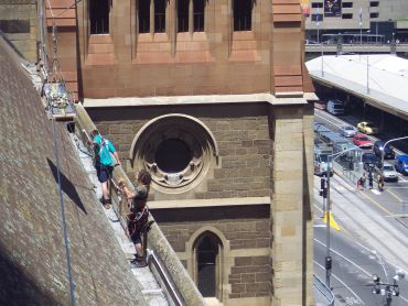 St Paul's Cathedral Lead Guttering Replacement